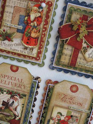 Christmas Emporium Wall Art Close