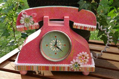 Urban Rhapsody Phone/Clock
