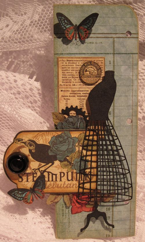 Steampunk Album  G Frame Page Right